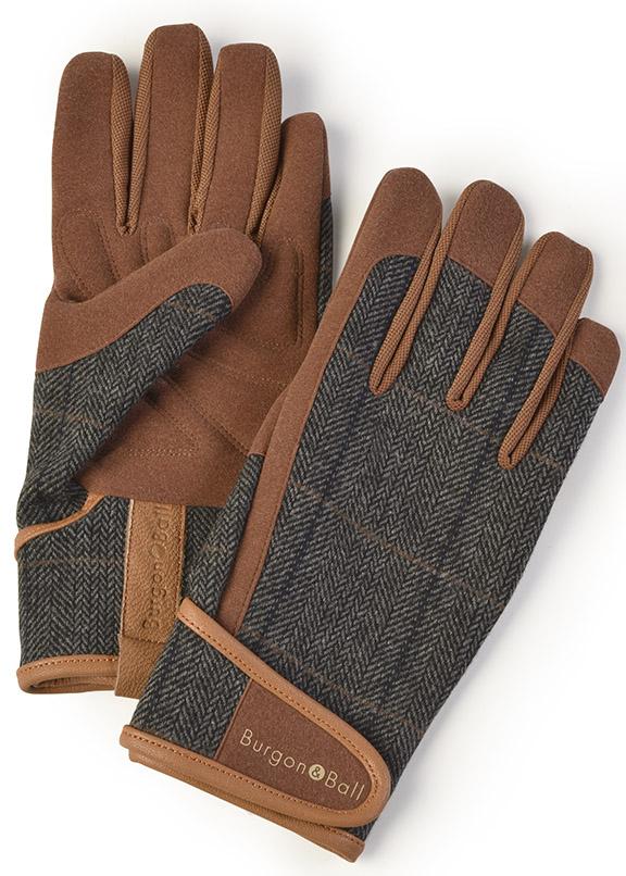 0f8f5a979b84 Перчатки мужские для садовых работ Dig The Glove Tweed Burgon & Ball